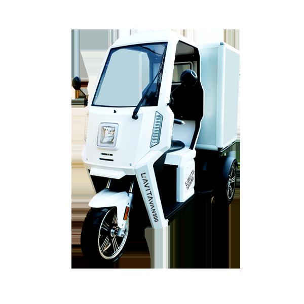 ラヴィータ バン500(側車付軽二輪)