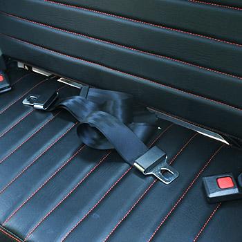 シートベルト(後部座席用)